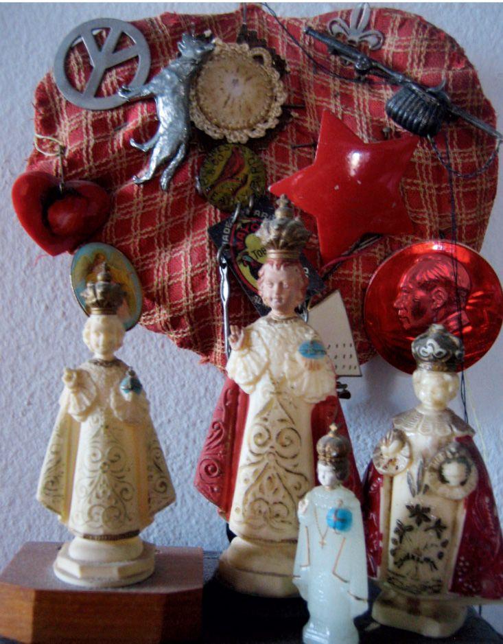 "Colecciono ""Niños de Praga"" icono de mi infancia católica"