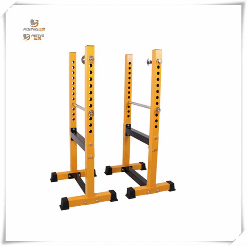 Gym heavy duty adjustable squat stands power rack for bar