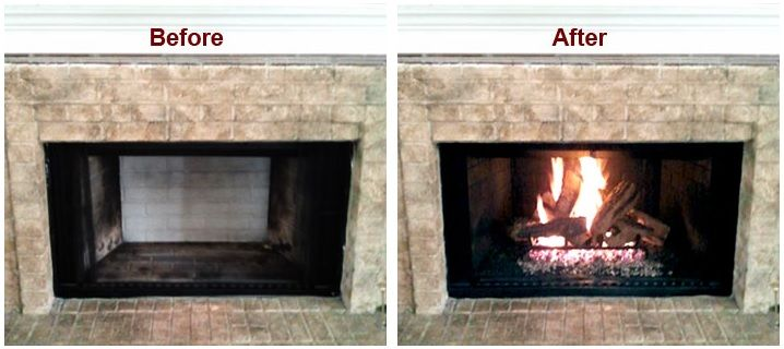 Coverting a Wood Burning Fireplace into a Gas Unit in 2020 ...