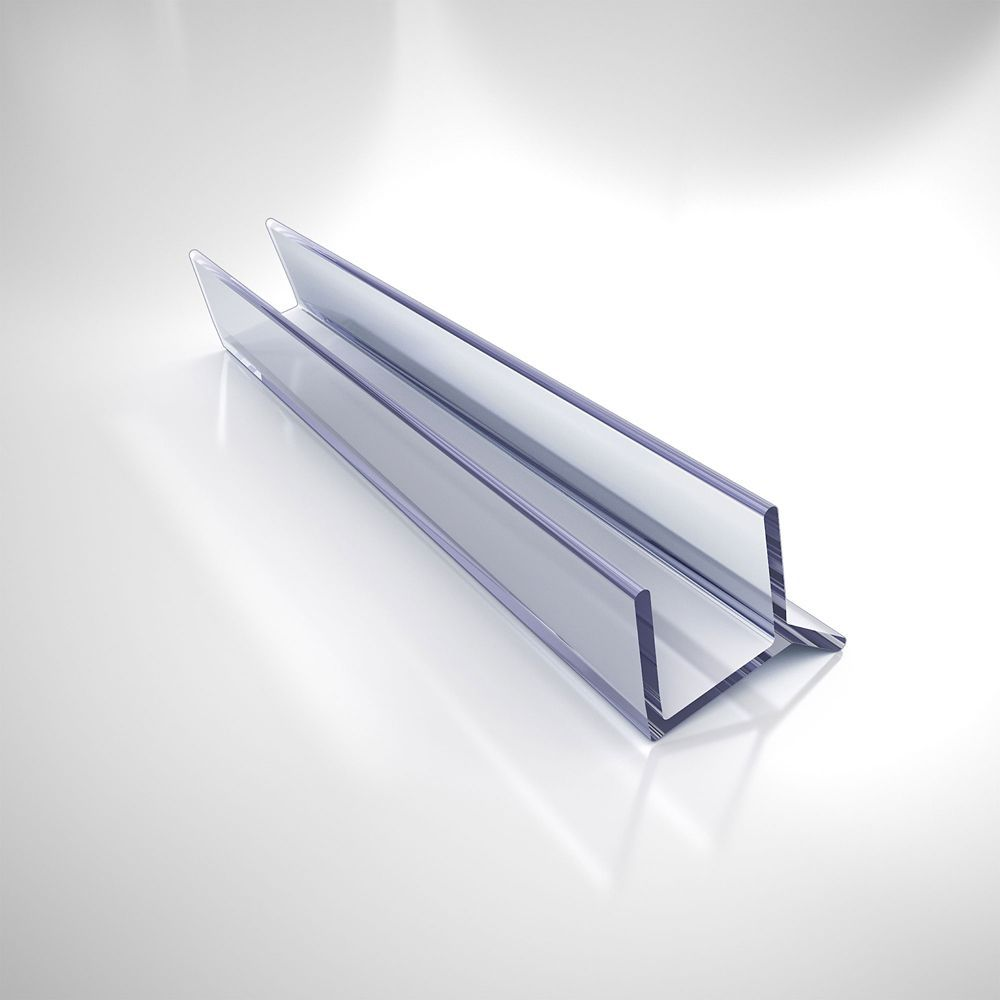 Jt033b 10 Clear Vinyl Seal 72 Inch Length For 3 8 Inch 10 Mm Glass Shower Door Shower Doors Glass Shower Glass Shower Doors
