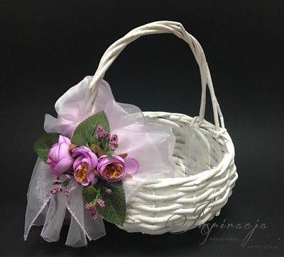 Koszyczek Wielkanocny Strona 2 Allegro Pl Wiecej Niz Aukcje Najlepsze Oferty Na Najwiekszej Platformie Ha Basket Decoration Wedding Basket Paper Weaving