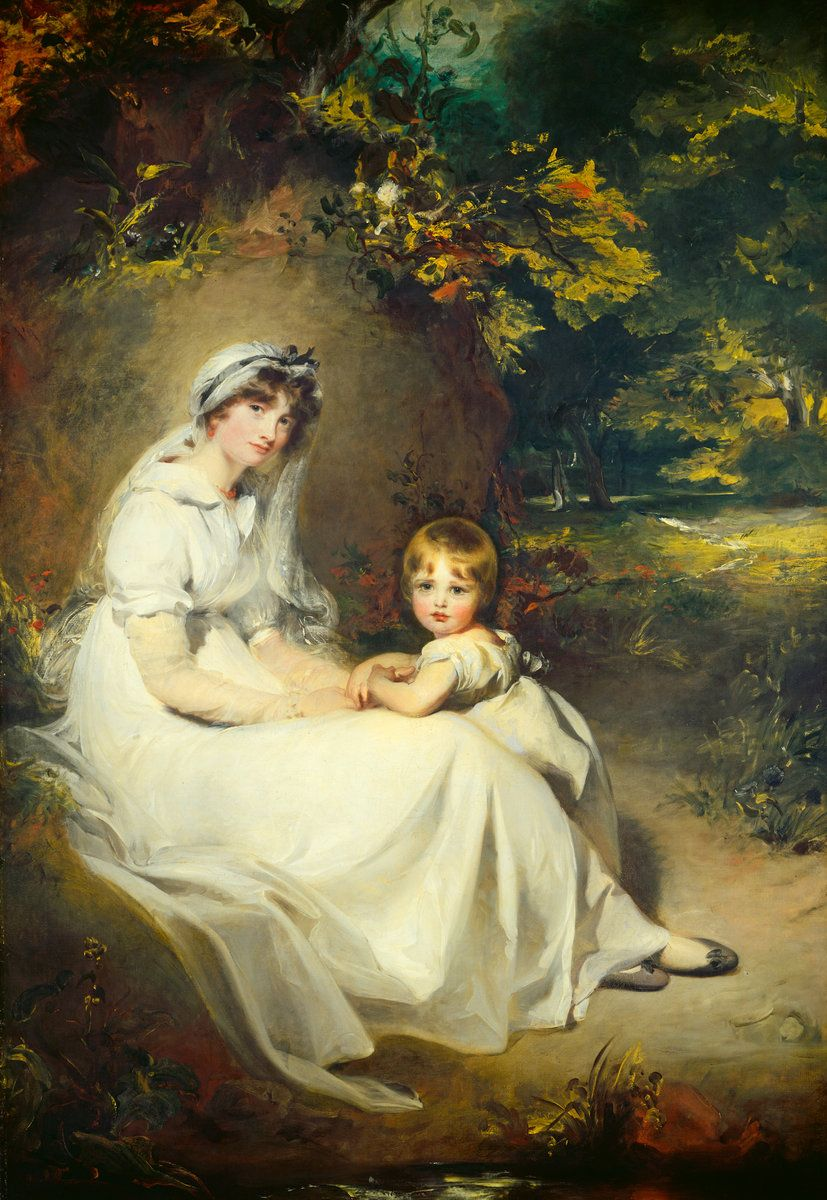 Lady Mary Templeton And Eldest Son Sir Thomas Lawrence