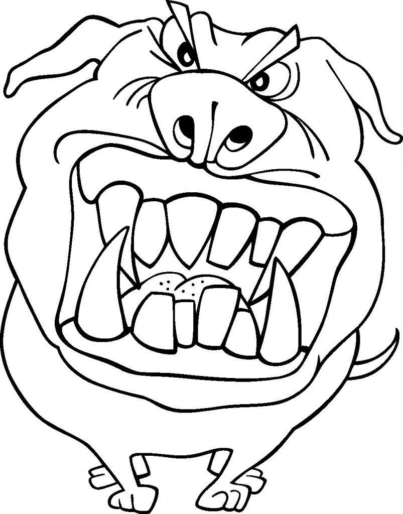 Free Printable Funny Coloring Pages For Kids (Dengan gambar)