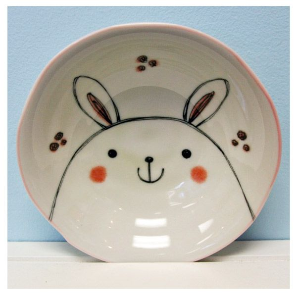 Ridiculously cute bowl, from Japantastic.