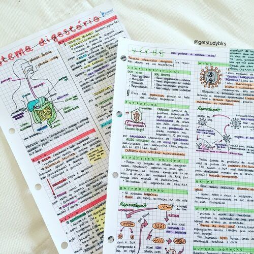 10 Beautiful Pictures Of Class Notes That Are Serious Study Goals Her Campus School Organization Notes Study Notes Class Notes