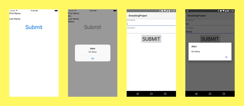 Cross Platform Native Apps With A Single Code Set Using Telerik Nativescript Smashing Magazine Coding App Me On A Map