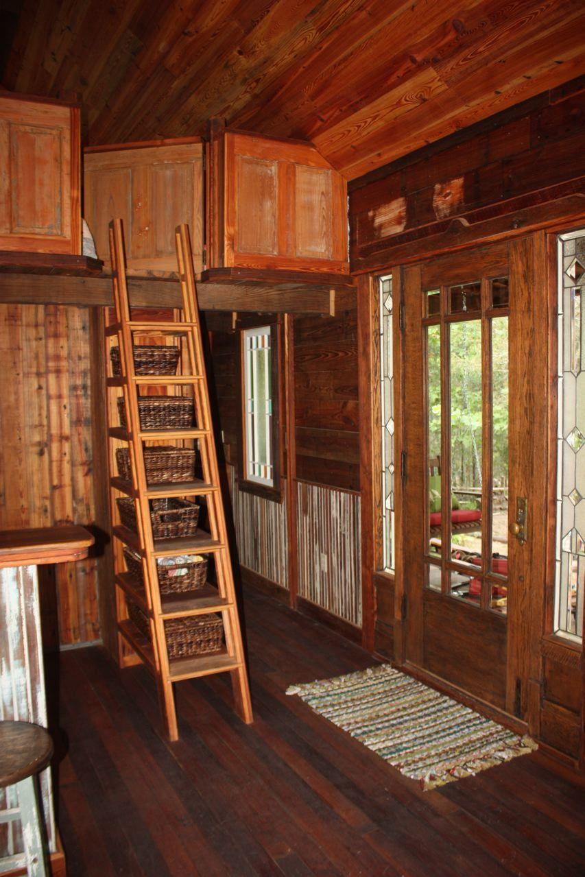 Best Ellinger Tiny Texas House Stairs To Loft Tiny Texas 640 x 480