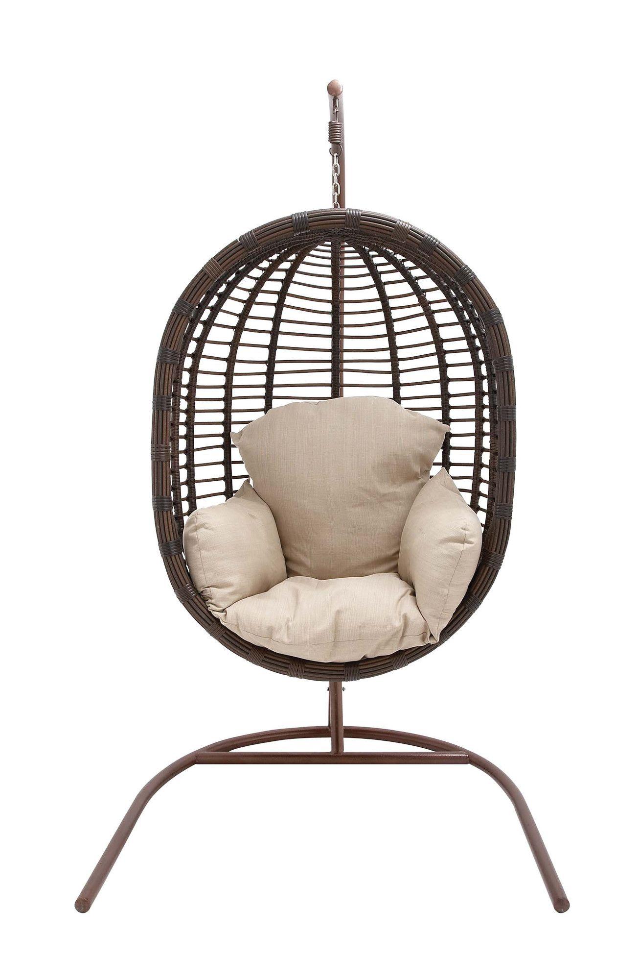 Mathilde Rattan Hanging Chair Swinging chair, Hanging