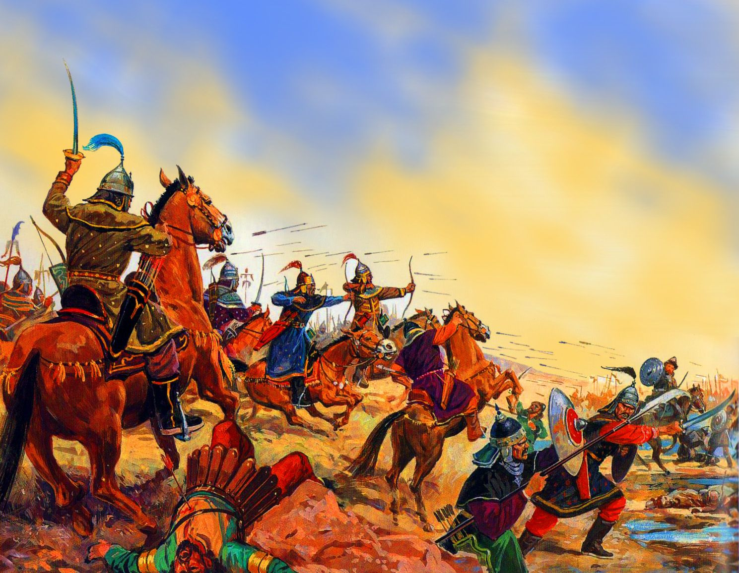 the mongols The mongols were a big deal they conquered all the way from china to eastern europe but they were a lot more than just fearsome warriors in genghis khan's company.