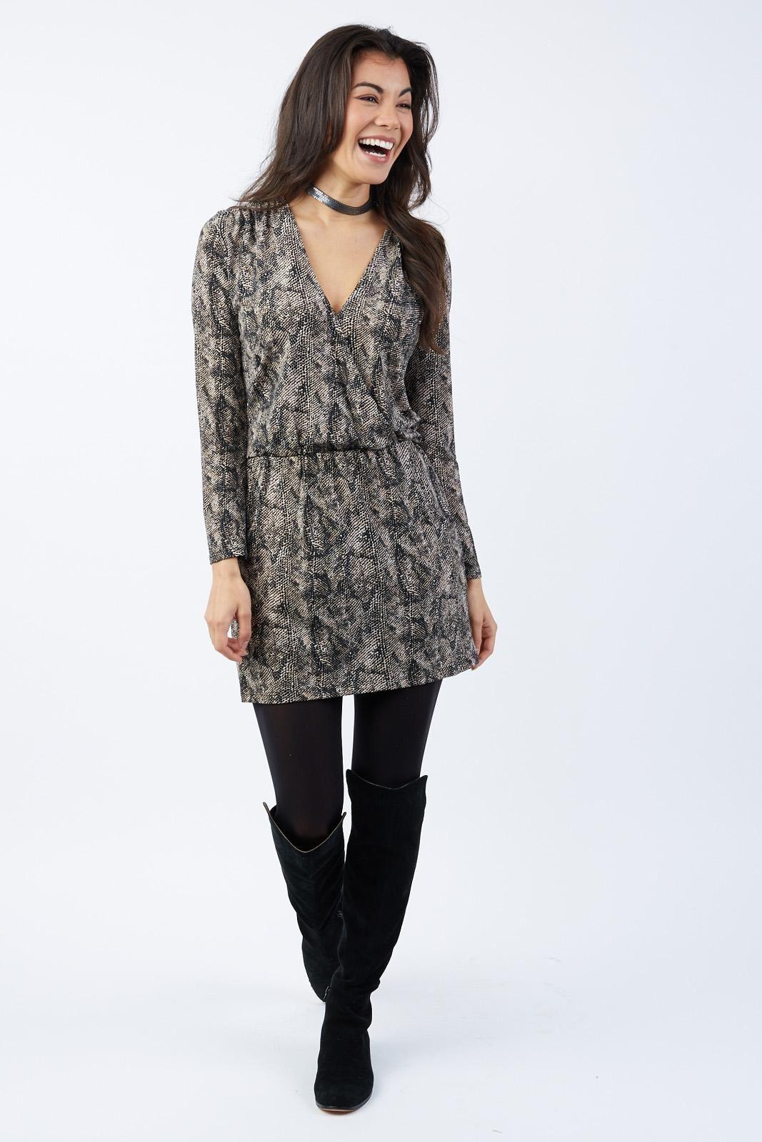 Lizzy Cinch Waist Dress by ALLISON JOY - EVEREVE