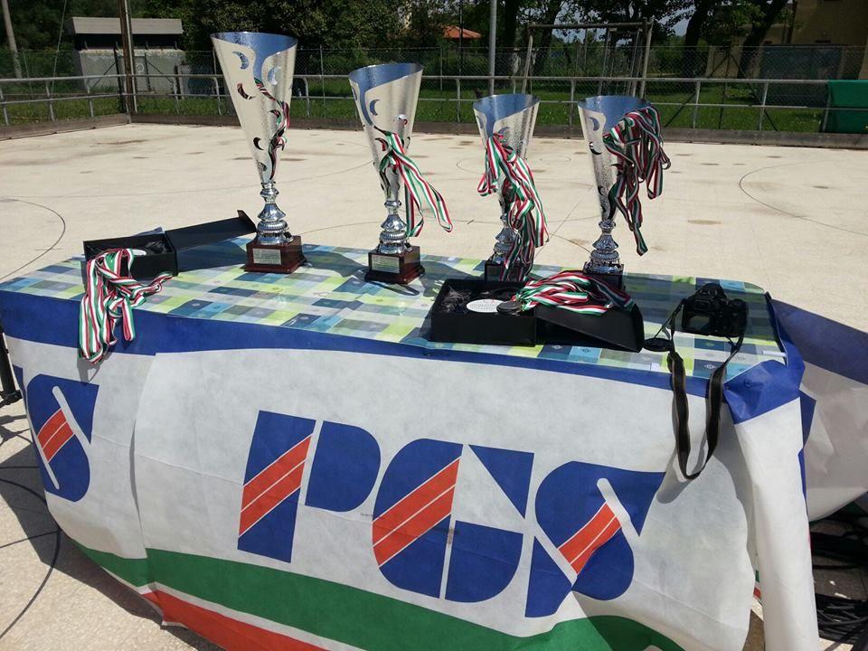 Le Coppe in attesa dei vincitori