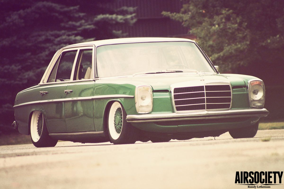Mercedes 1976 300d W115 Bagged Air Suspension Ride Assisted Wiring Diagram Airassisted 007