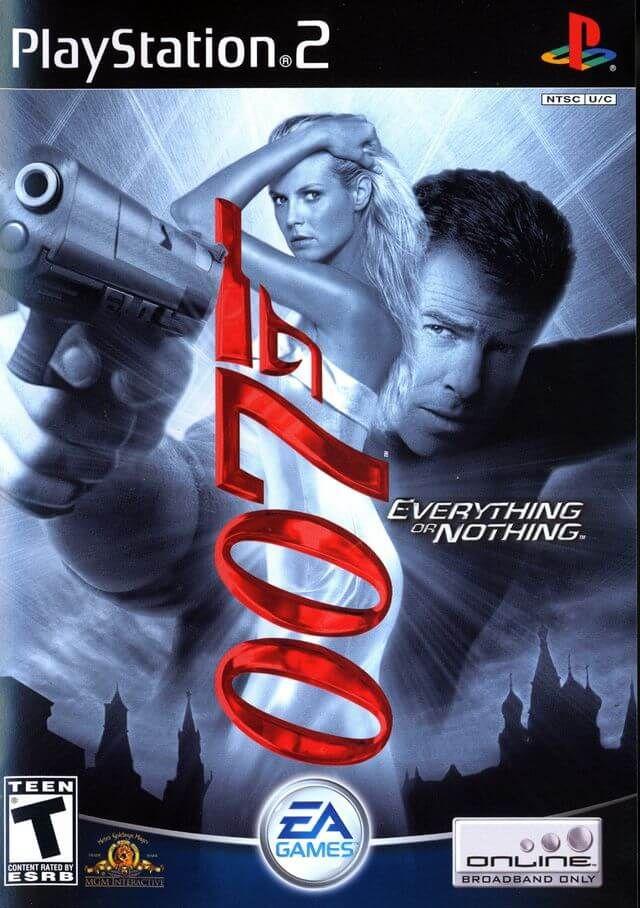 007 Everything Or Nothing Pal Espanol Ps2 Peliculas De
