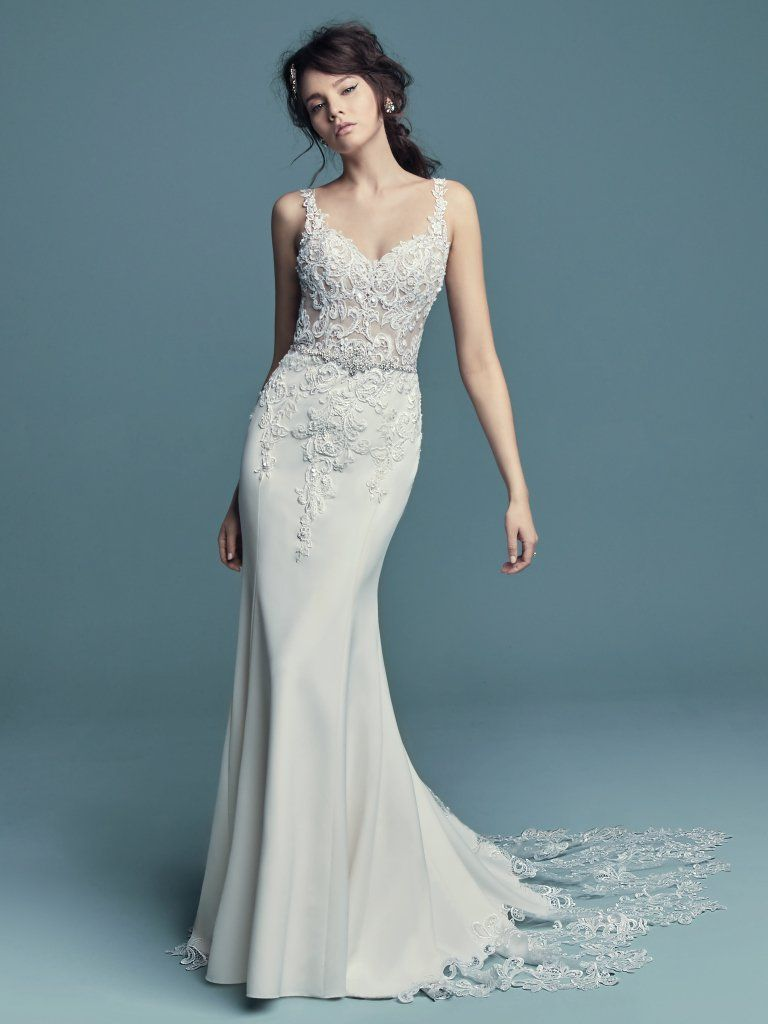 Alaina By Maggie Sottero Wedding Dresses Fitted Wedding Gown Maggie Sottero Wedding Dresses Sottero Wedding Dress