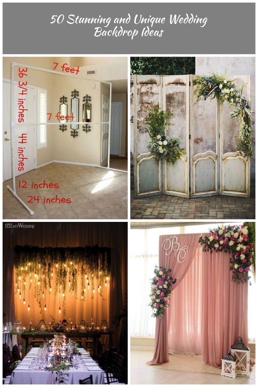 57 ideas for wedding backdrop reception head table pvc