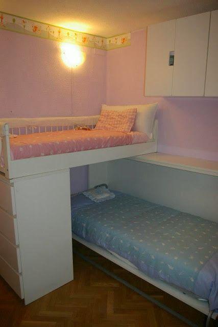 Una habitación para hermanos gemelos con GULLIVER | Piratas de Ikea ...