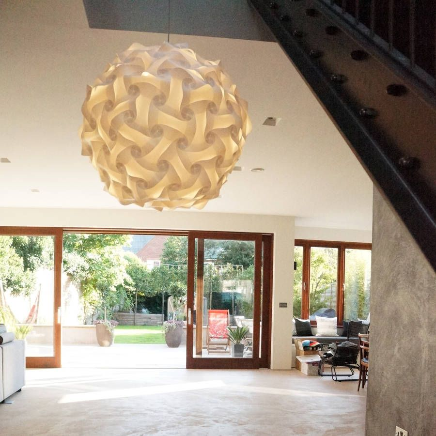Are You Interested In Our White Ceiling Pendant Light Shade With Large Round Lampshade