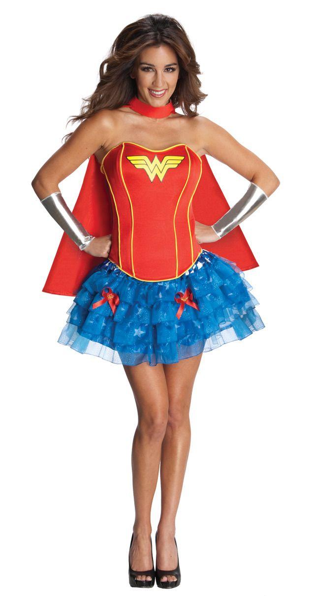 c9756c05a20 Wonder Woman Corset DC Comics Super Hero Sexy Adult Women s Costume
