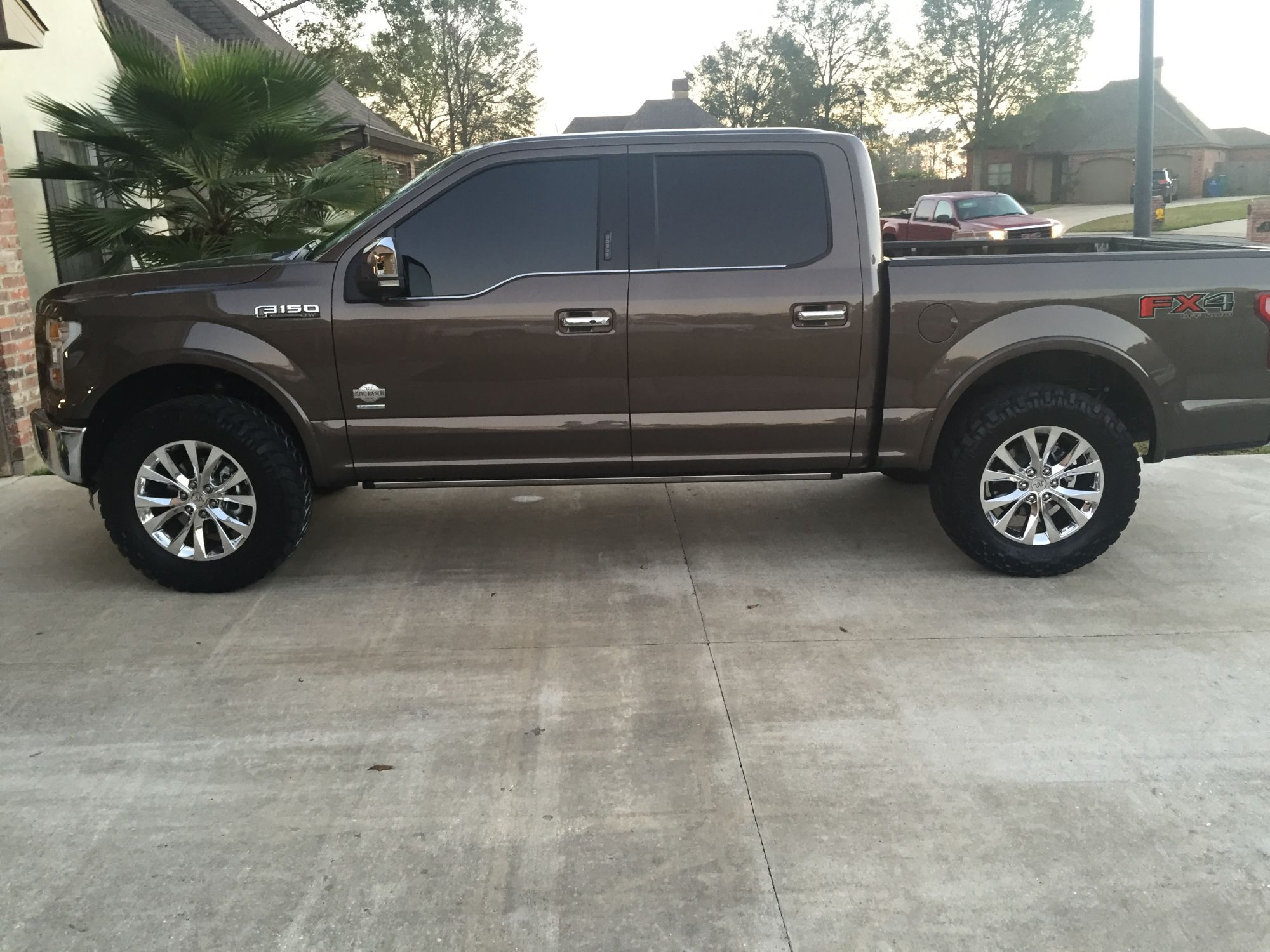 My 2 5 Leveled W X2f 35s King Ranch Page 5 Ford F150 Forum
