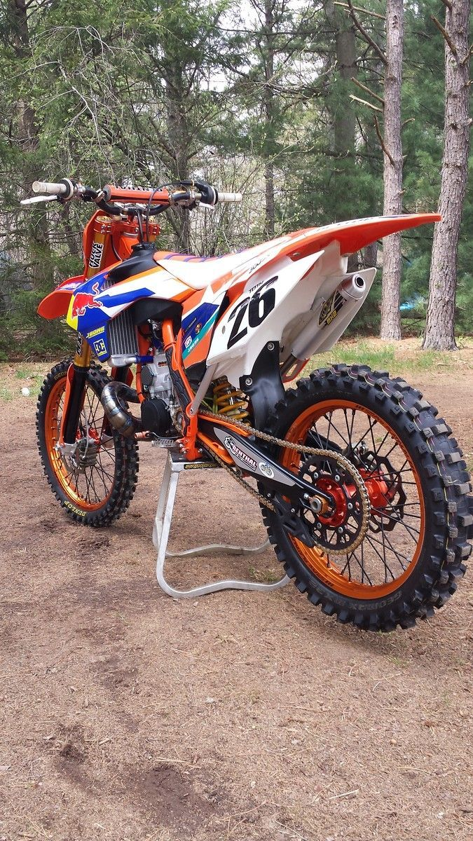 Ktm Deuxroues Ktm Moto Motocross Motodesign Motopourfille