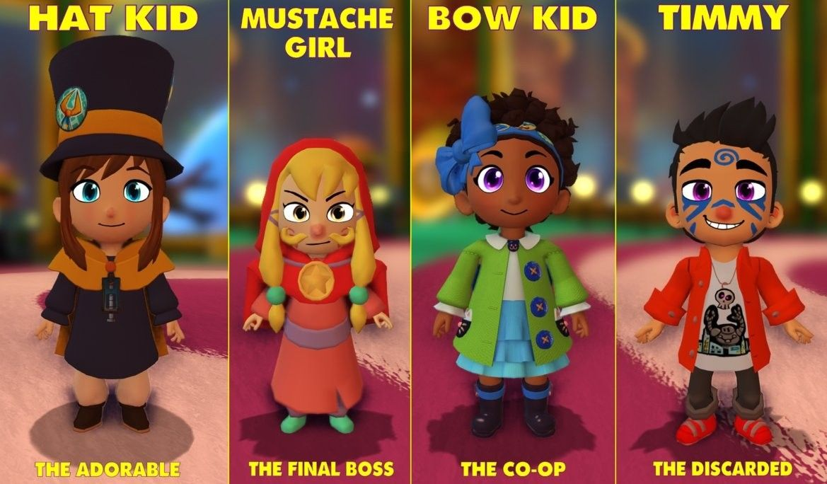 Pin By Tiny Cupcake Lover On Hat In Time A Hat In Time Bow Kid A Hat In Time Hat Kid A Hat In Time