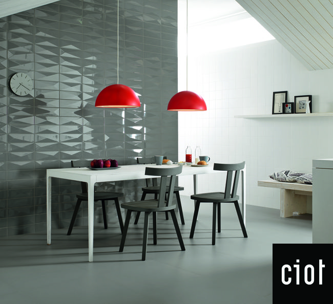 SISTEM C wall ceramic tile collection with geometric pattern. To ...