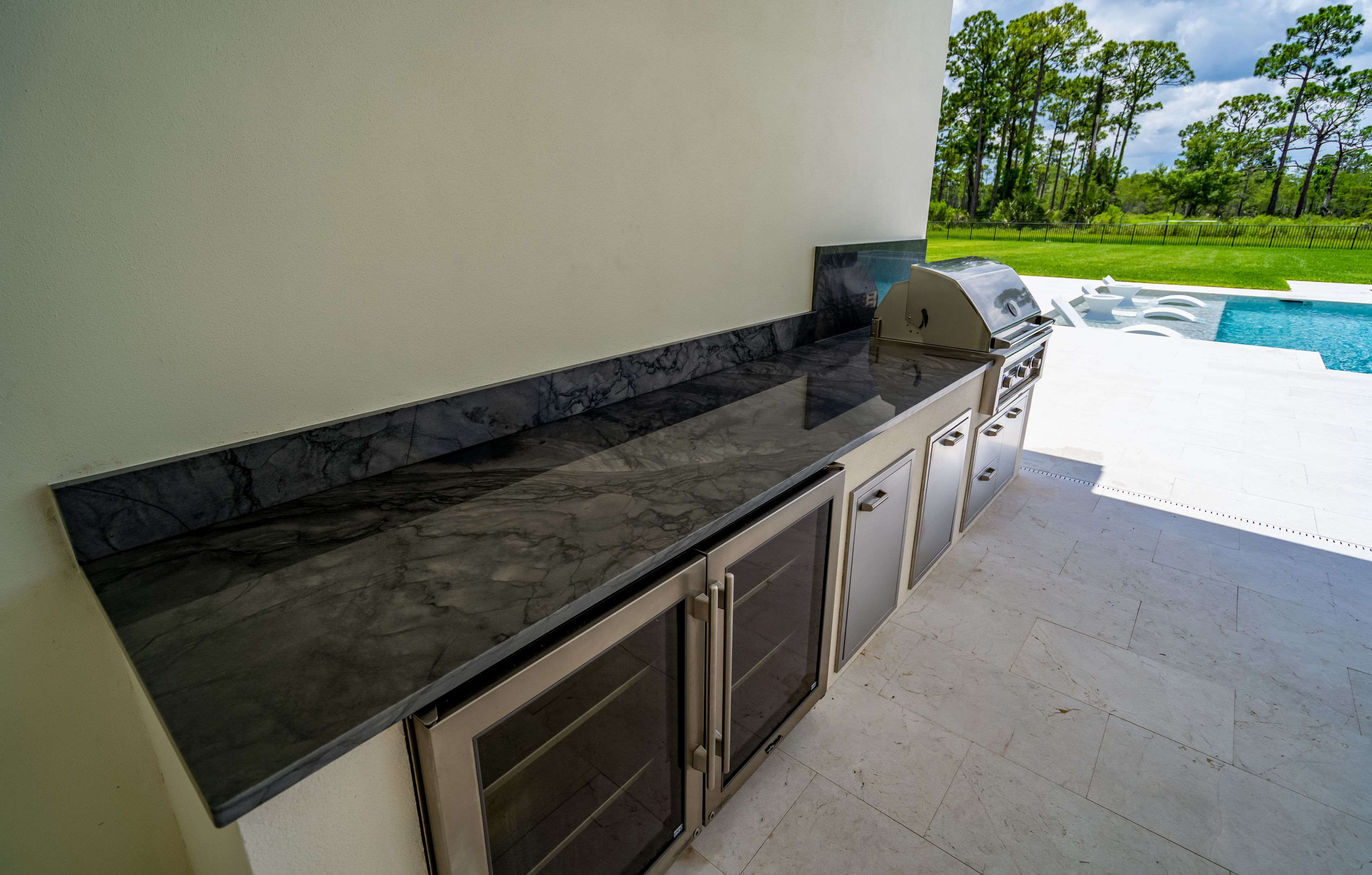 quartzite is such a beautiful natural stone and is one of the best choices for outdoor kitchen on outdoor kitchen quartzite id=75405