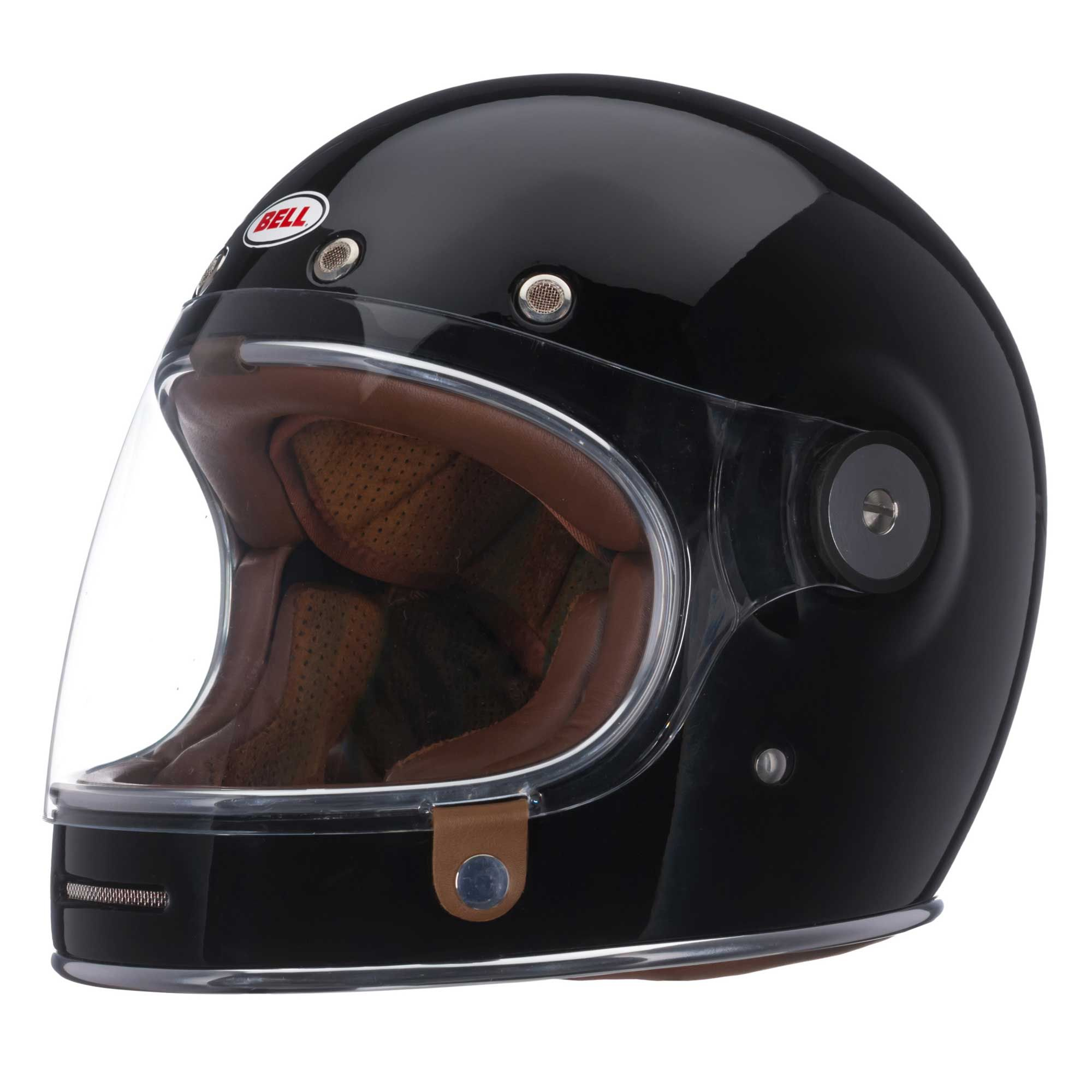 Bell custom 500 gloss black vintage low profile helmet chopper harley - Shop For Bell Bullitt Helmet Solid Black Fantastic Retro Style Full Face Ece Helmet From Bell Free Next Day Uk Delivery And Returns