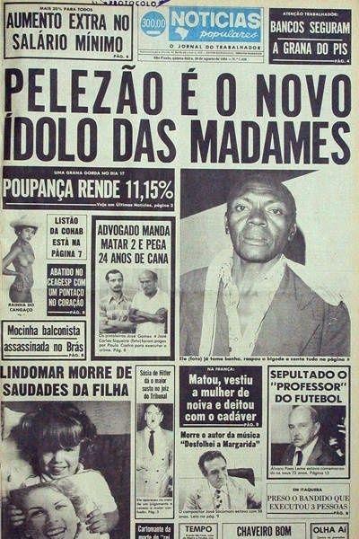Relembre casos polêmicos do 'Notícias Populares'