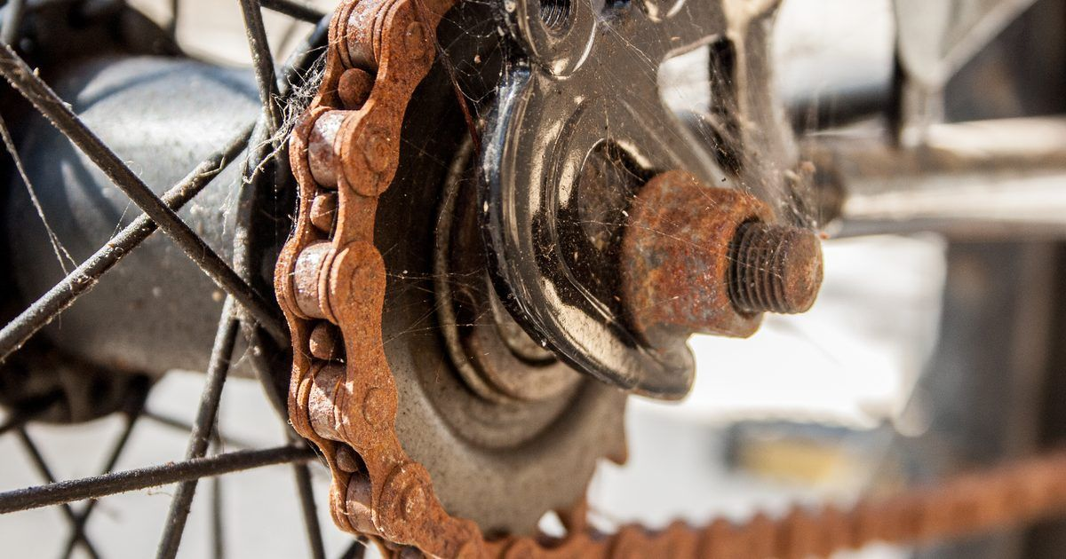 How To Remove Rust From A Bike Chain How To Remove Rust