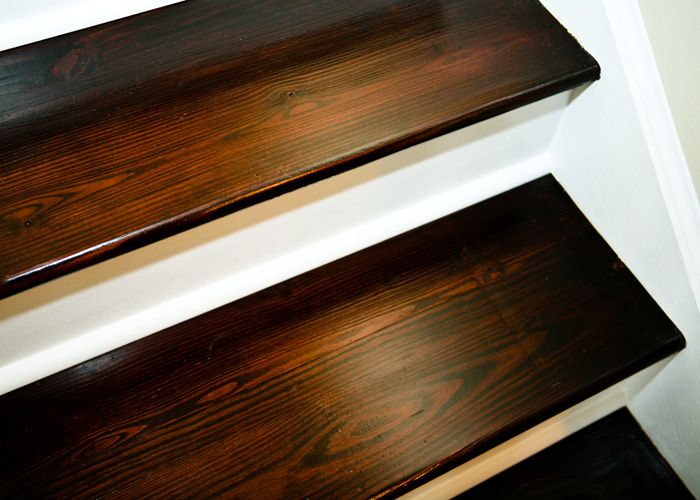 Tuesday S Treasures My Uncommon Slice Of Surbibia Home Diy   Refinishing Builder Grade Stairs   Diy   Basement Stairs   Staircase Makeover   Flooring   Carpeted Stairs
