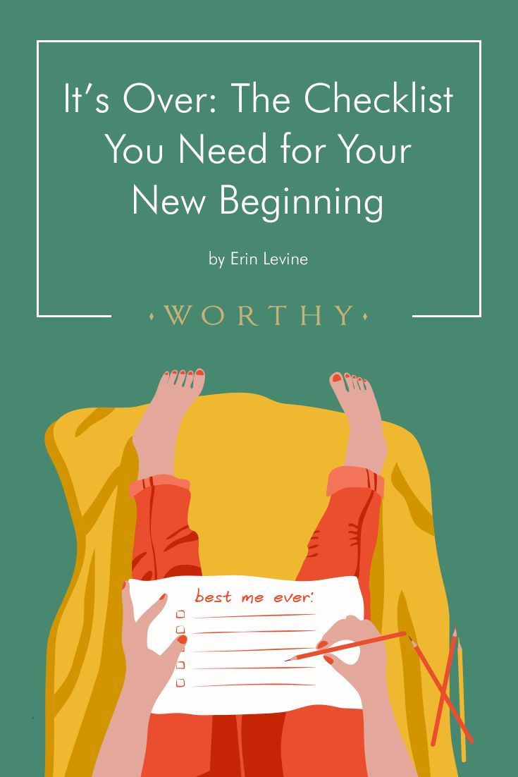 It's Over: The Checklist You Need for Your New Beginning #divorce