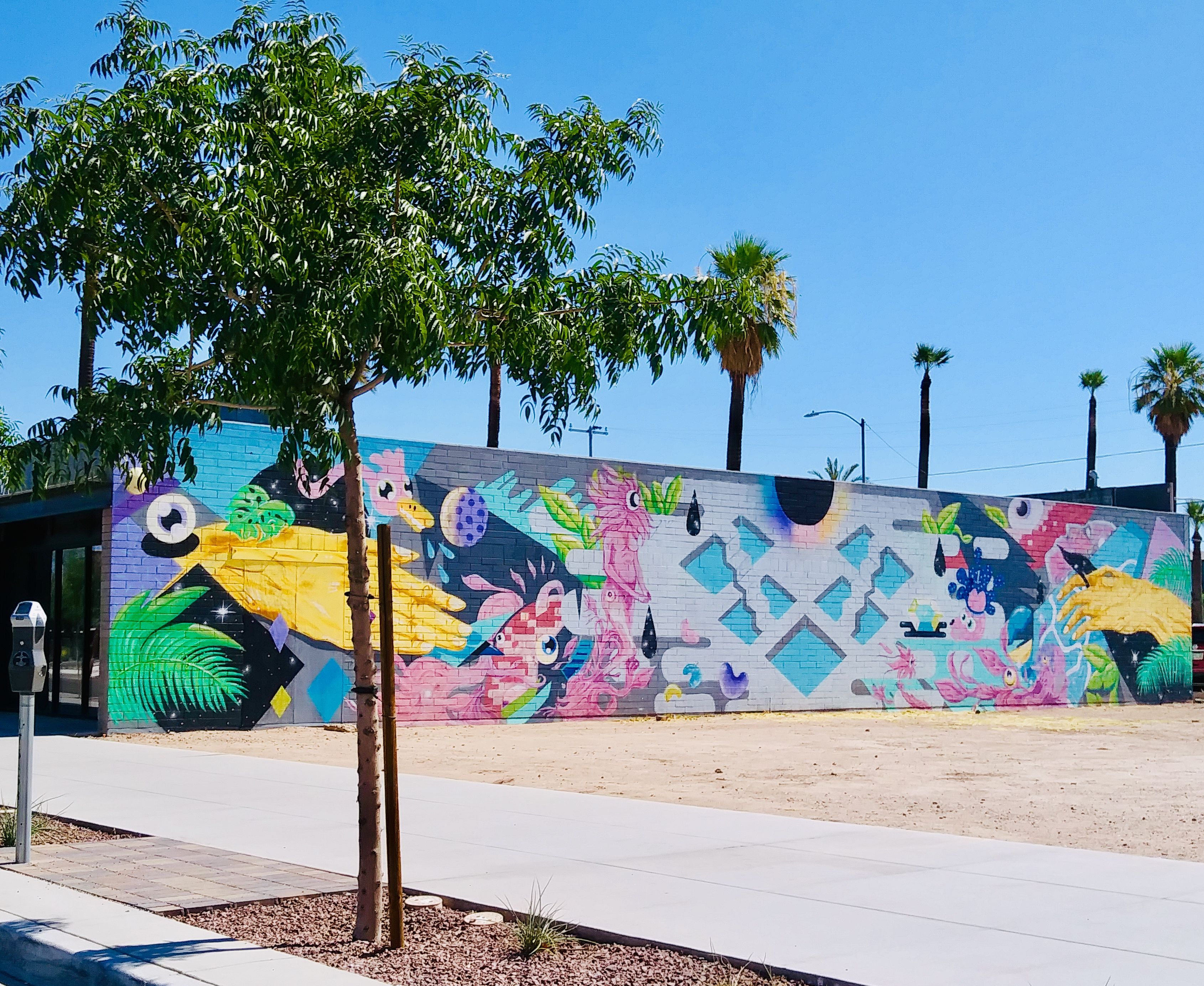 Roosevelt Row Arts District near Downtown Phoenix Arizona
