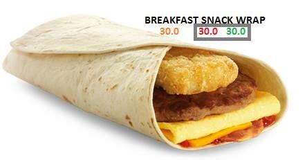 Mcdonald S Breakfast Wrap Fast Food Breakfast Breakfast Wraps Food