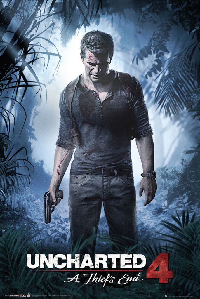 uncharted 4 size