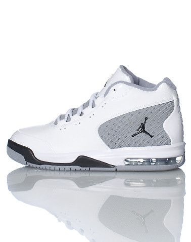 936af822097e JORDAN High top Lace up closure Padded mesh tongue Jumpman logo on outer  side and tongue Air bubble heel