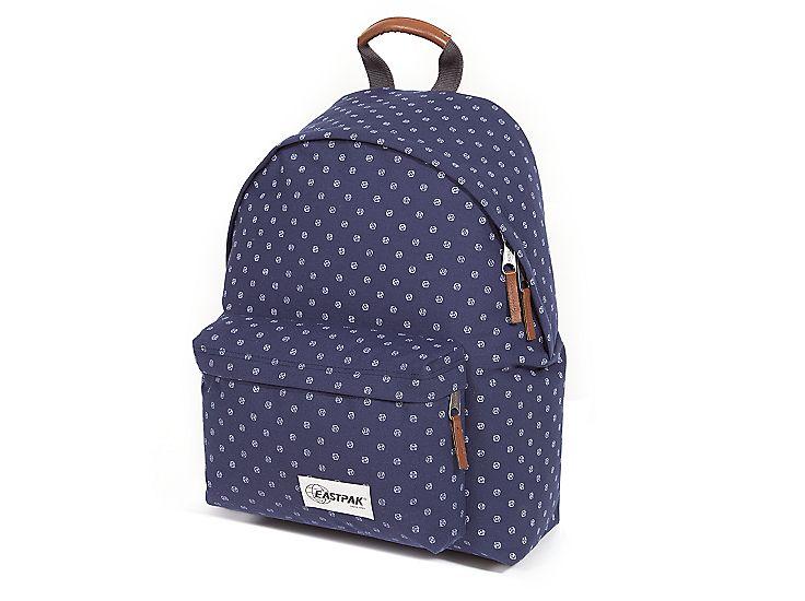 Eastpak Pak'R Cheetah Print Padded Backpack in Black   Sac