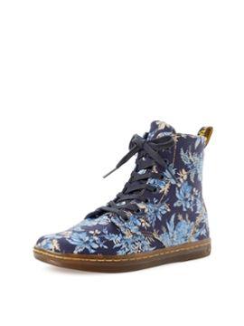 Hackney Floral Sneaker Boot from Dr. Martens on Gilt
