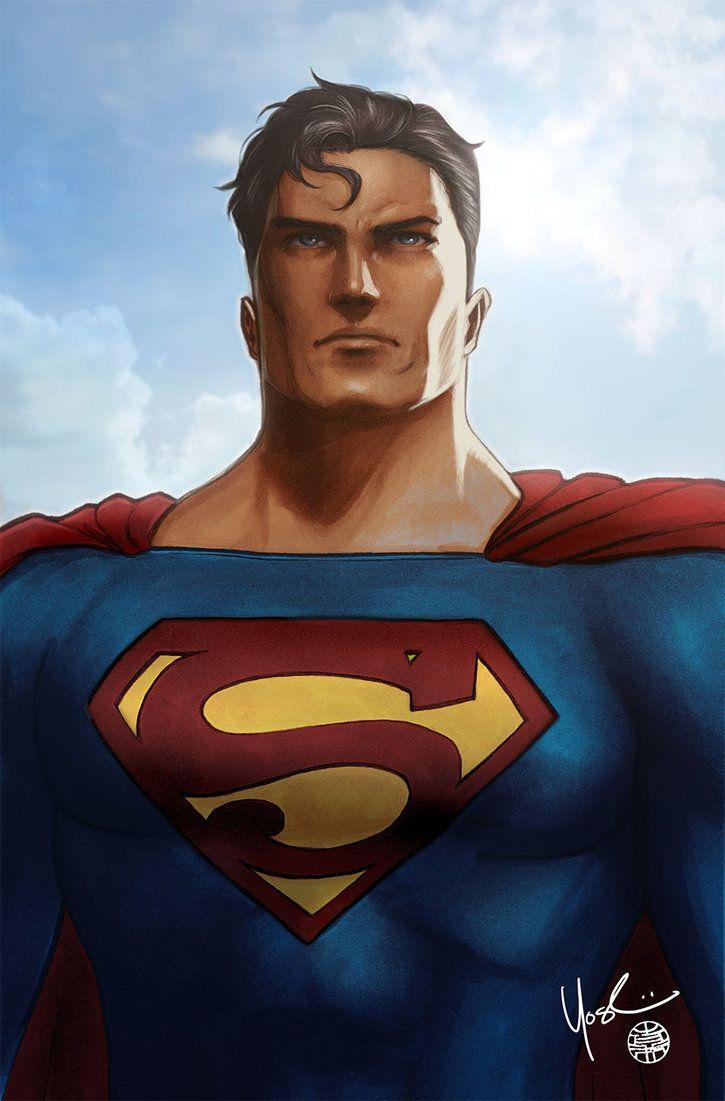 #Superman #Fan #Art. (Superman Portrait) By: Protokitty.