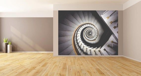Best Wall Art Abstract Spiral Staircase Photo Wallpaper Huge 400 x 300