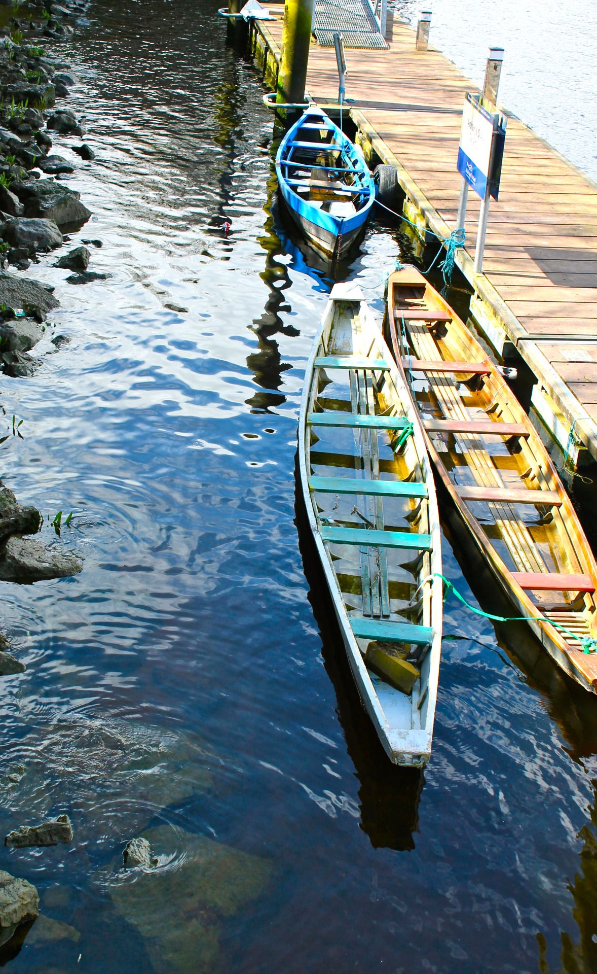 mcmollyrenee Boats in Limerick, Ireland. Photo