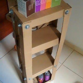 Easy Cardboard Shelves #cardboardshelves Easy Cardboard Shelves: 3 Steps #cardboardshelves Easy Cardboard Shelves #cardboardshelves Easy Cardboard Shelves: 3 Steps #cardboardshelves