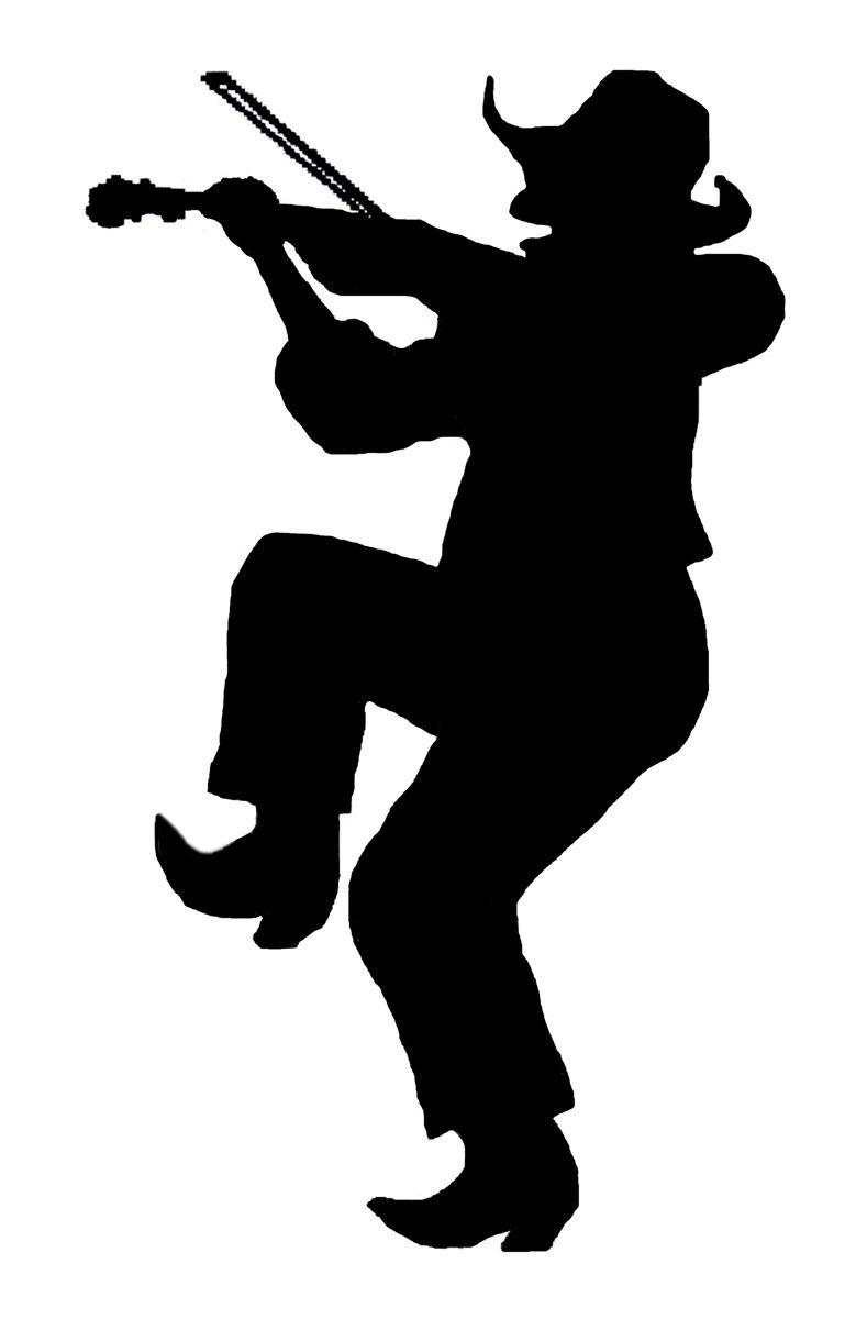 square dance fiddler | silhouette | pinterest | square dance