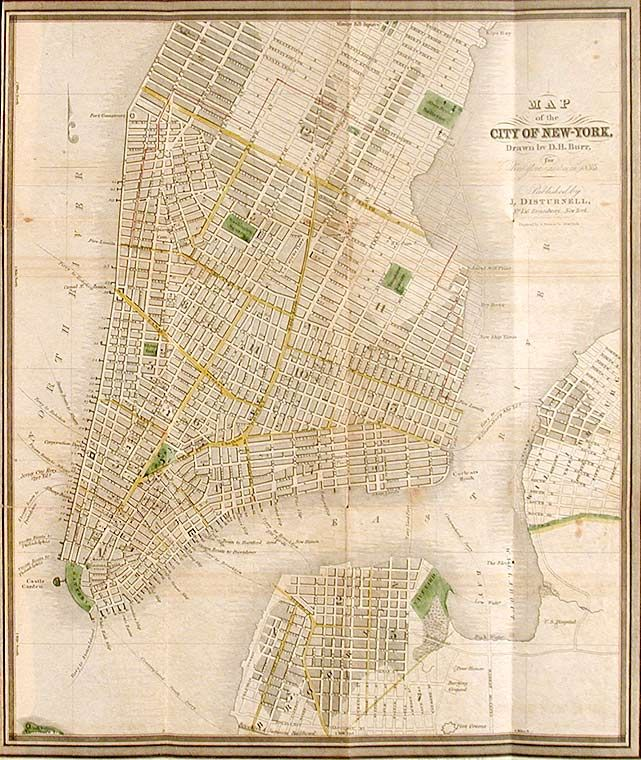 New York in 1835 It s a picture worldd in 2019