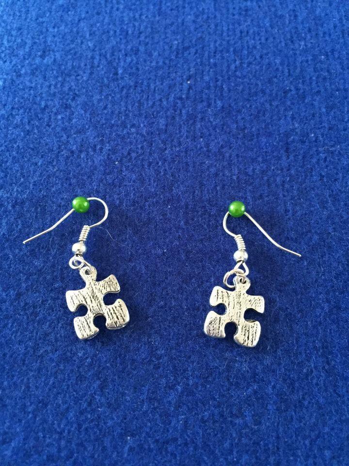 Puzzle Earrings £5 Earrings, Jewelry, Crochet earrings