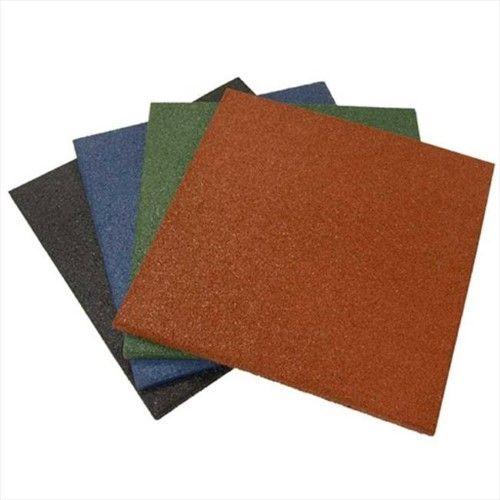 Rubber-Cal Eco-Sport 1-inch Interlocking Flooring Tiles - 1 x 20 x