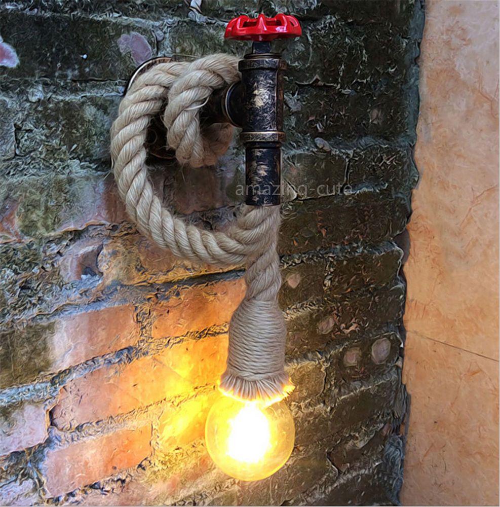 Vintage Wandlampe Wandleuchter Hängelampe Retro Industrie