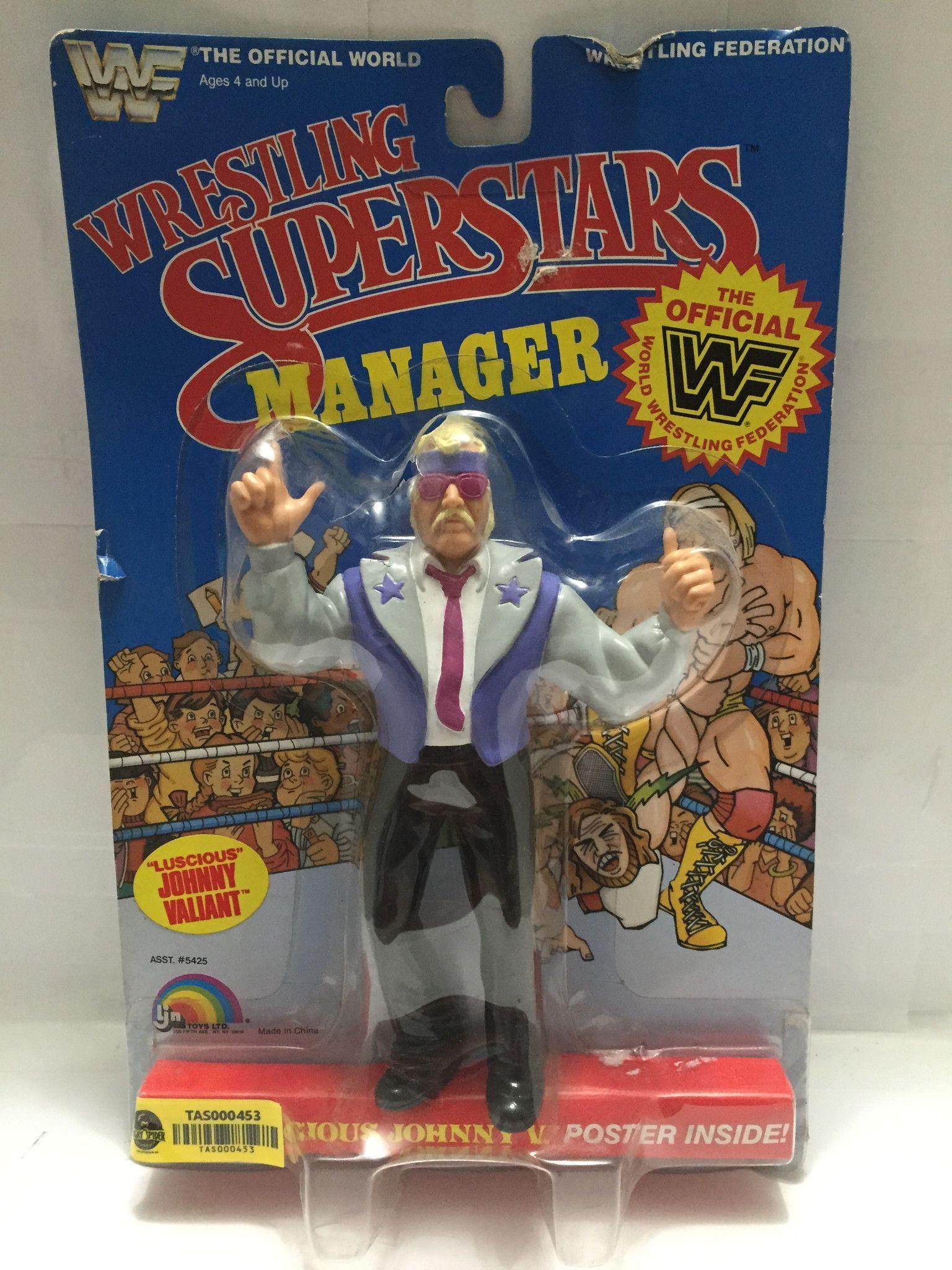Tas000453 1985 Ljn Wrestling Superstars Manager Wrestling Superstars Wrestling Weird Toys