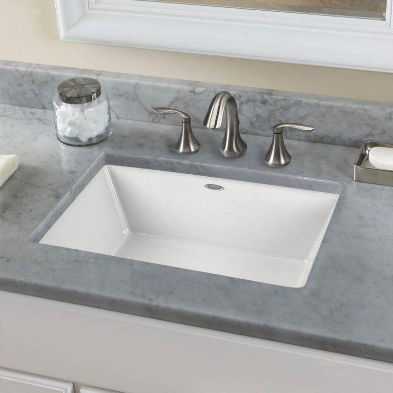 . Bathroom Large Rectangular Undermount Bathroom Sink Lav Sink Small