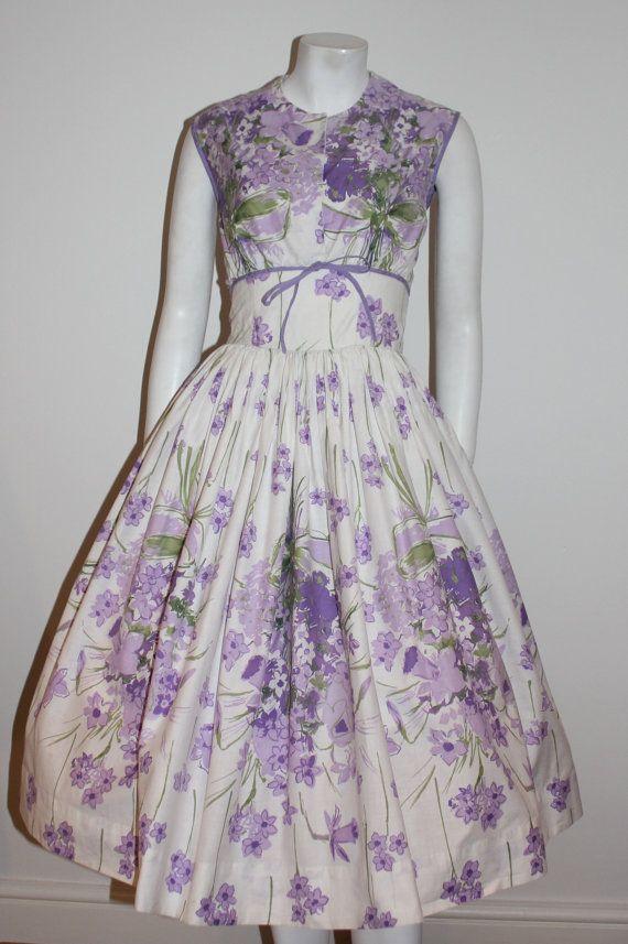 Vintage original 1950s Horrockses dress